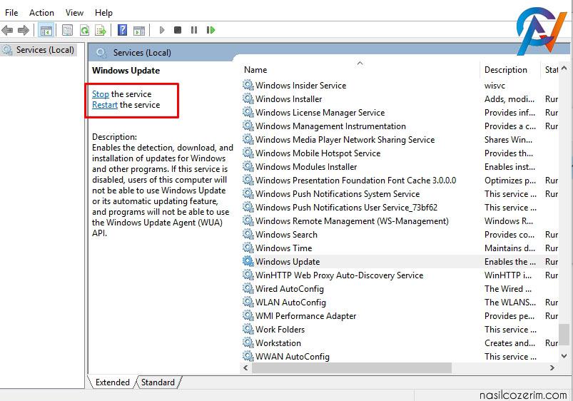 Windows Güncelleştirmelerini Nasıl Kapatırız?