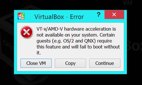 intel-vtx-hatası